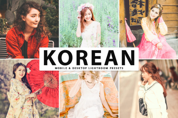 Print on Demand: Korean Pro Lightroom Presets Graphic Actions & Presets By Creative Tacos