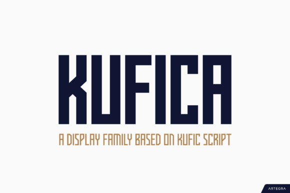 Print on Demand: Kufica Sans Serif Font By ceyhunbirinci