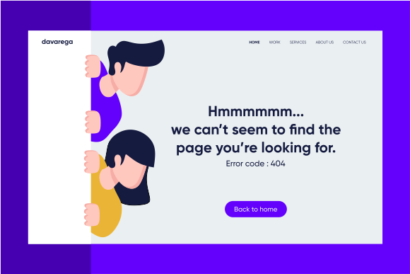 Download Free Landing Page Error Code 404 Graphic By Davaregastudio Creative for Cricut Explore, Silhouette and other cutting machines.