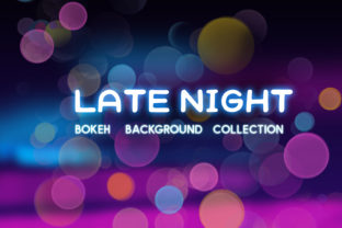 Late Night Bokeh Background Collection Graphic By tatiana.cociorva