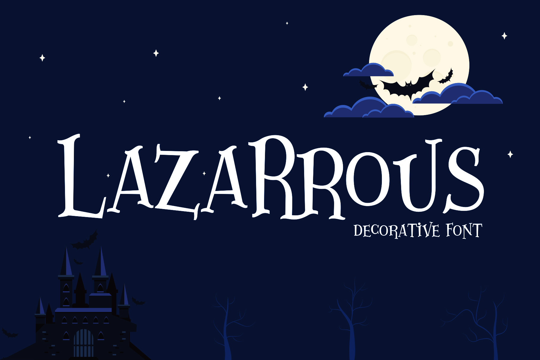 Download Free Lazartous Font By Gumacreative Creative Fabrica for Cricut Explore, Silhouette and other cutting machines.