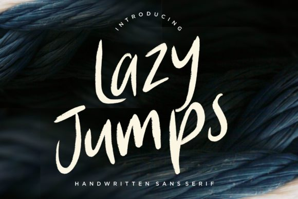 Print on Demand: Lazy Jumps Sans Serif Font By CreatypeStudio