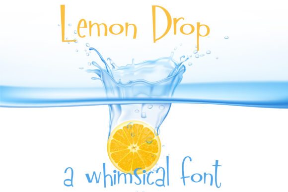 Download Free Lemon Drop Font By Illustration Ink Creative Fabrica for Cricut Explore, Silhouette and other cutting machines.