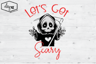 Let's Get Scary Graphic By Sheryl Holst