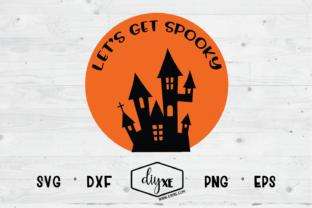 Let's Get Spooky Graphic By Sheryl Holst