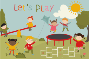 Lets Play Graphic By poppymoondesign