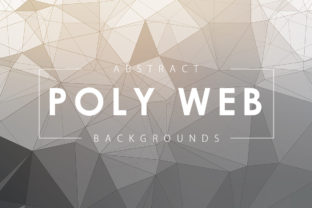 Light Poly Web Backgrounds Graphic By ArtistMef