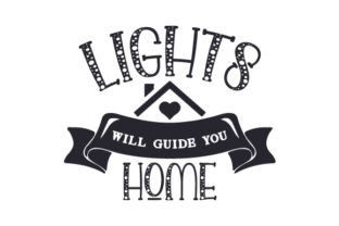 Lights Will Guide You Home Craft Design By Creative Fabrica Crafts