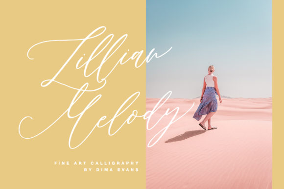 Print on Demand: Lillian Melody Script & Handwritten Font By Dmitrii Chirkov