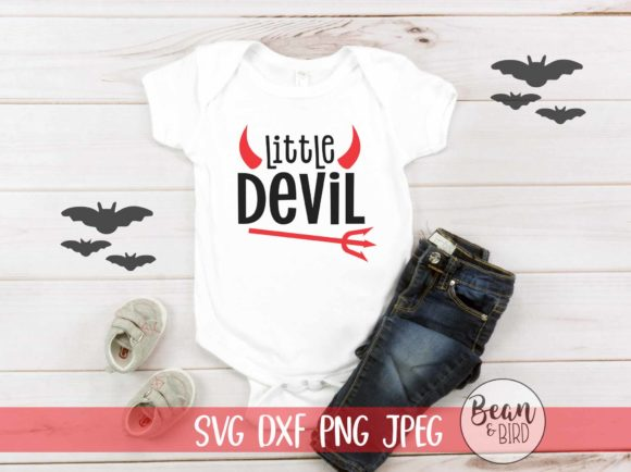 Print on Demand: Little Devil Halloween Graphic Crafts By Jessica Maike