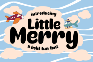 Print on Demand: Little Merry Script & Handwritten Font By astageni.std