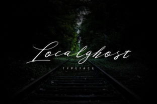 Localghost Font By Alit Design