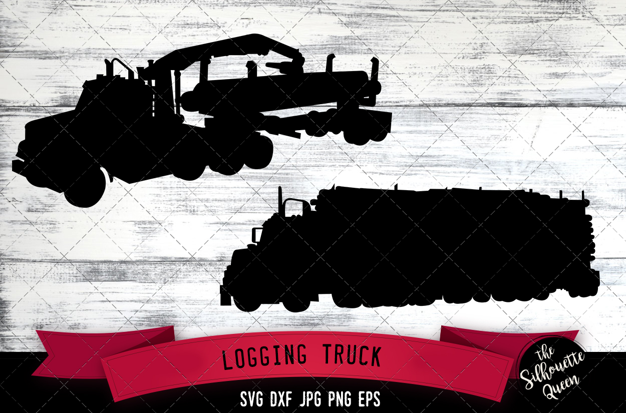 Download Free Logging Truck Graphic By Thesilhouettequeenshop Creative Fabrica for Cricut Explore, Silhouette and other cutting machines.