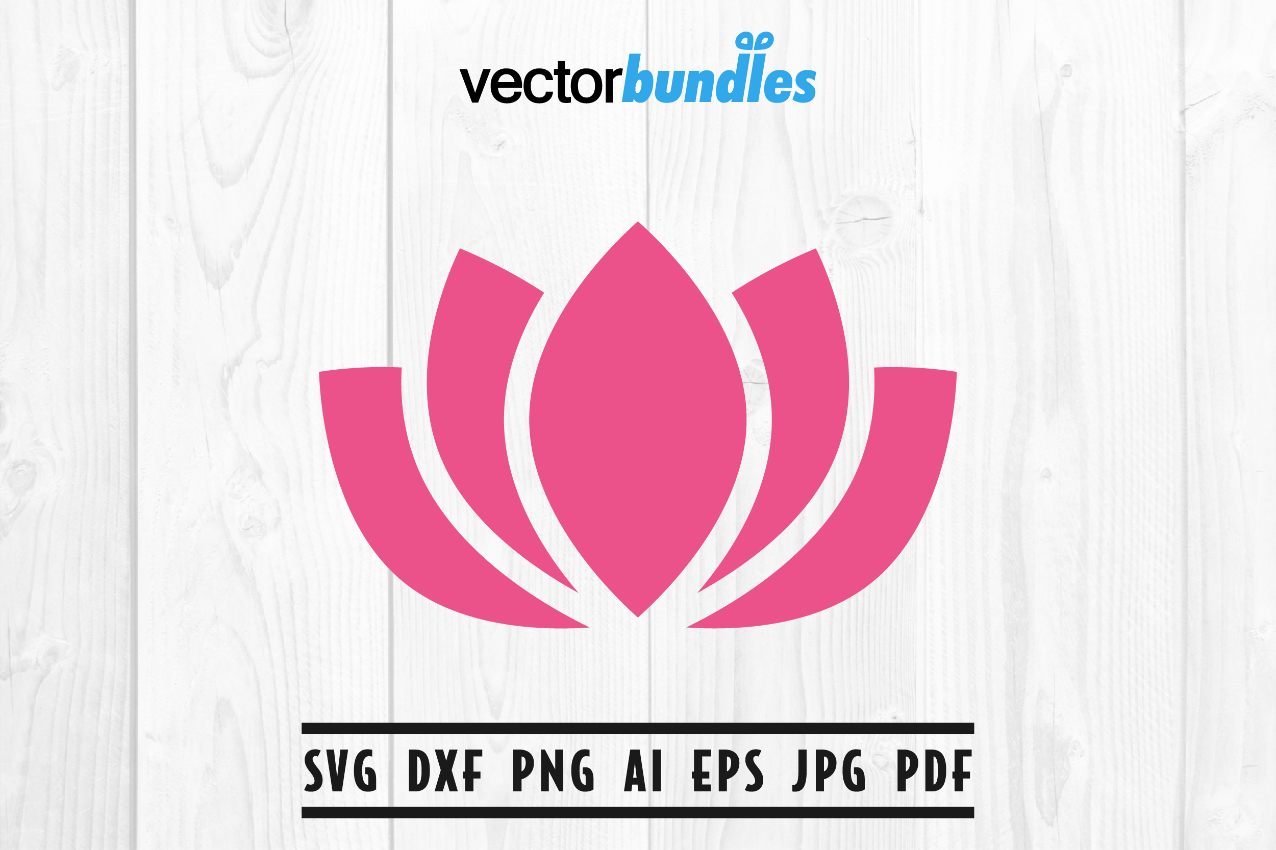 Download Free Lotus Clip Art Svg Graphic By Vectorbundles Creative Fabrica for Cricut Explore, Silhouette and other cutting machines.