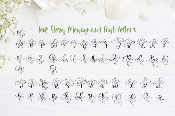 Love Story Font By Happy Letters Image 6