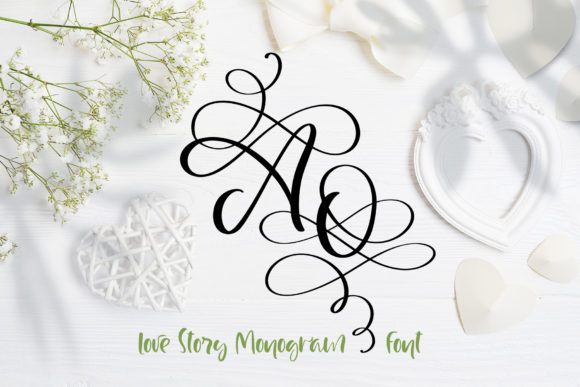 Print on Demand: Love Story Script & Handwritten Font By Happy Letters