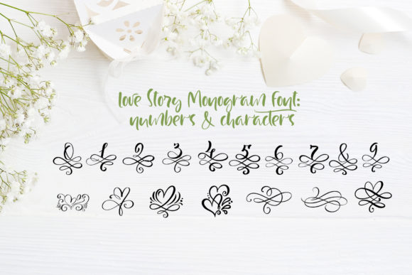Love Story Font By Happy Letters Image 7