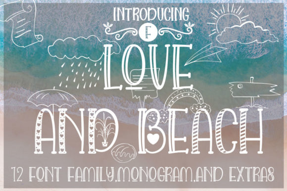 Print on Demand: Love and Beach Script & Handwritten Font By jehansyah251