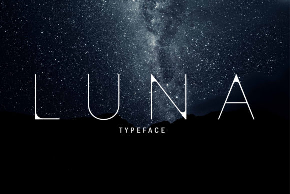 Print on Demand: Luna Sans Serif Font By wilzondsgn