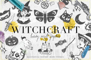 Luxury Witchcraft Graphics Graphic Print Templates By NassyArt