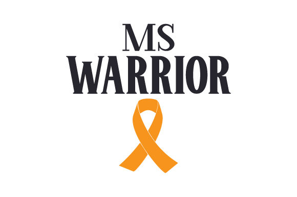 MS Warrior Awareness Craft Cut File By Creative Fabrica Crafts