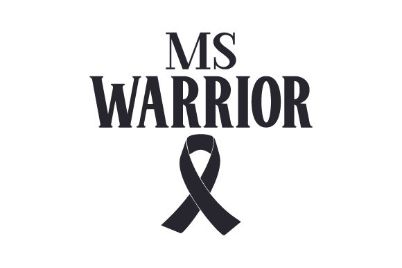 MS Warrior Awareness Craft Cut File By Creative Fabrica Crafts - Image 2