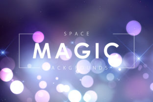 Magic Space Backgrounds Graphic By ArtistMef