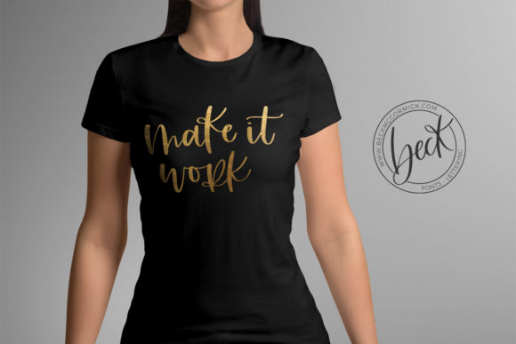 Print on Demand: Make It Work Graphic Crafts By BeckMcCormick - Image 2