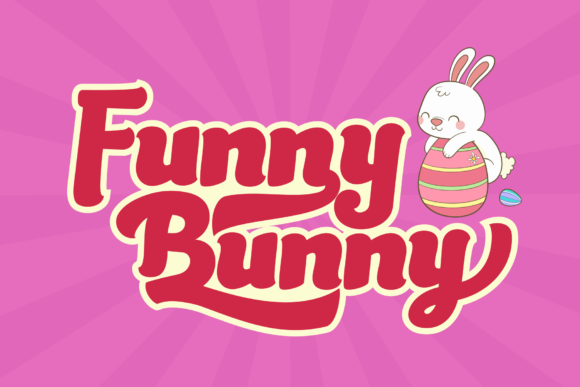 Print on Demand: Mama Bunny Display Font By LetterBeary - Image 5