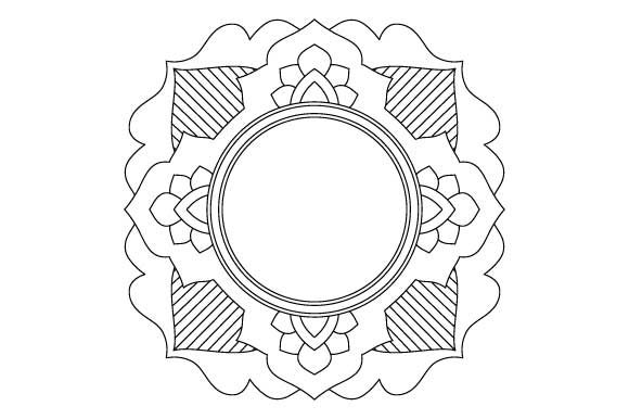 Download Free Mandala Vector Art Coloring Page Pdf Png Graphic By Graphicsfarm SVG Cut Files