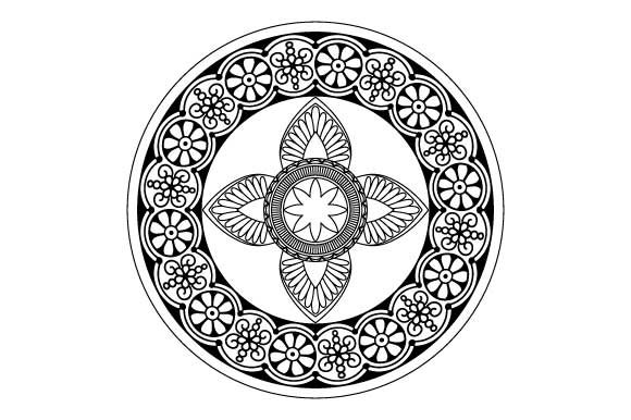 Download Free Mandala Vector Art Coloring Page Pdf Png Graphic By Graphicsfarm for Cricut Explore, Silhouette and other cutting machines.