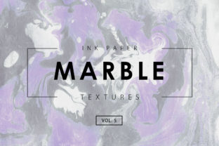Marble Ink Textures 5 Graphic By ArtistMef