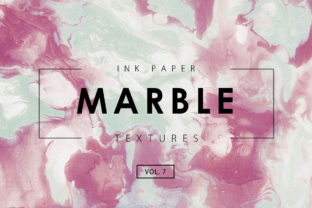 Marble Ink Textures 7 Graphic By ArtistMef