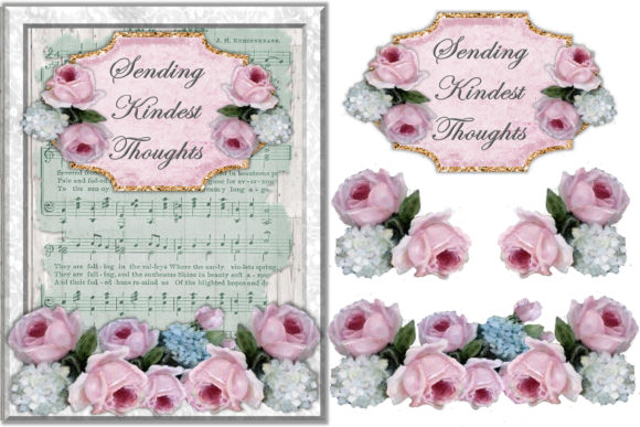 Print on Demand: Mega Scrapbooking Kit Free Backgrounds Graphic Crafts By The Paper Princess - Image 4