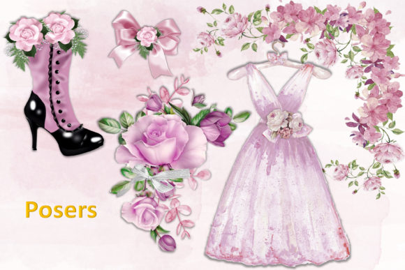 Print on Demand: Mega Scrapbooking Kit Free Backgrounds Graphic Crafts By The Paper Princess - Image 7