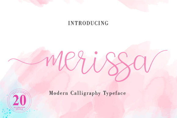 Print on Demand: Merissa Script & Handwritten Font By ed.creative