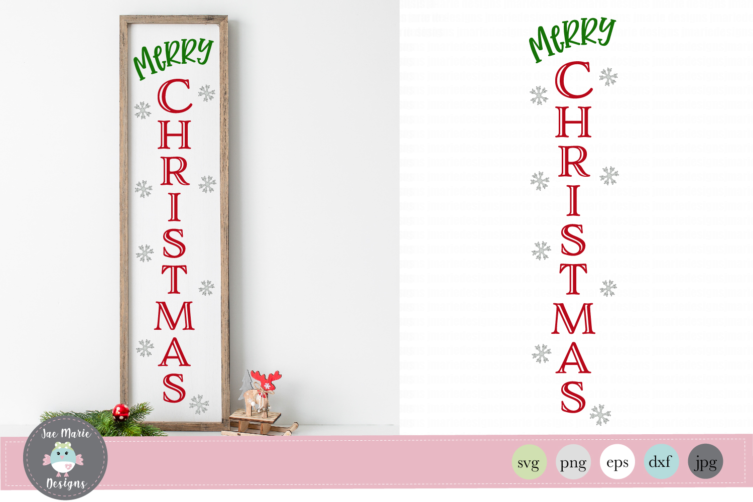 Download Free Merry Christmas For Wood Sign Graphic By Thejaemarie Creative for Cricut Explore, Silhouette and other cutting machines.