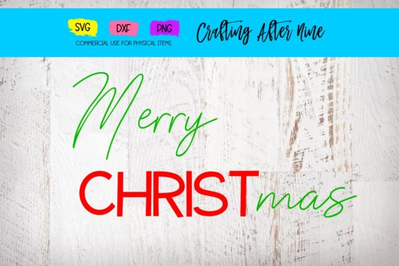 Print on Demand: Merry Christmas Graphic Crafts By Crafting After Nine