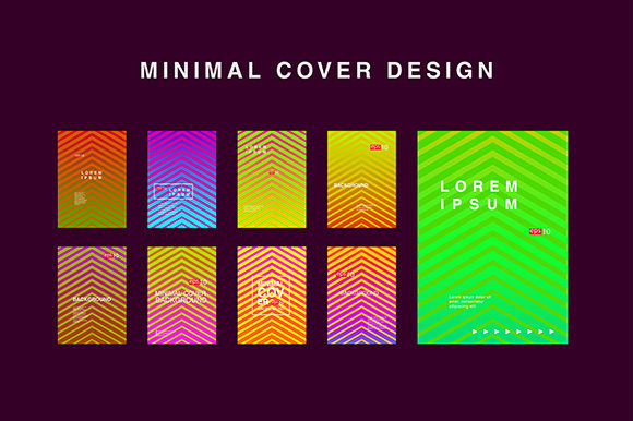 Minimal Covers Set Background Graphic By apple