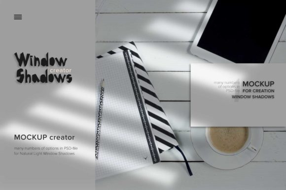 Download Free Mockup Window Shadow Creator Graphic By Z Zajka Creative Fabrica for Cricut Explore, Silhouette and other cutting machines.