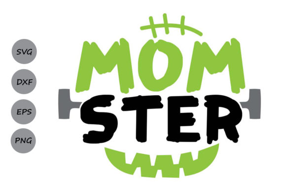 Download Free Momster Graphic By Cosmosfineart Creative Fabrica for Cricut Explore, Silhouette and other cutting machines.