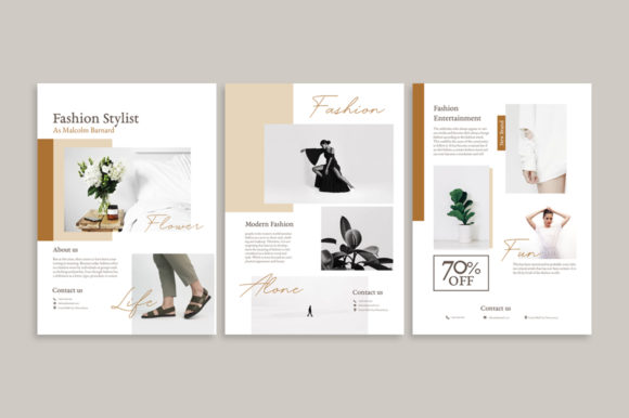 Download Free Moodboard Flyer Templates Graphic By Qohhaarqhaz Creative Fabrica SVG Cut Files