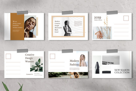 Download Free Moodboard Postcard Templates Graphic By Qohhaarqhaz Creative Fabrica for Cricut Explore, Silhouette and other cutting machines.