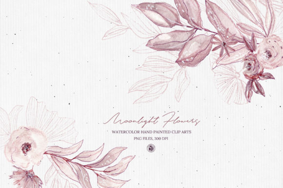 Moonlight Flowers Graphic Illustrations By webvilla - Image 2