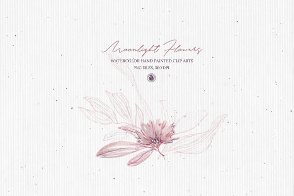 Moonlight Flowers Graphic Illustrations By webvilla - Image 4