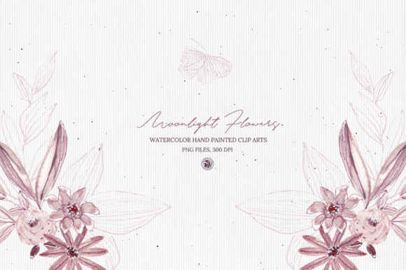 Moonlight Flowers Graphic Illustrations By webvilla - Image 5