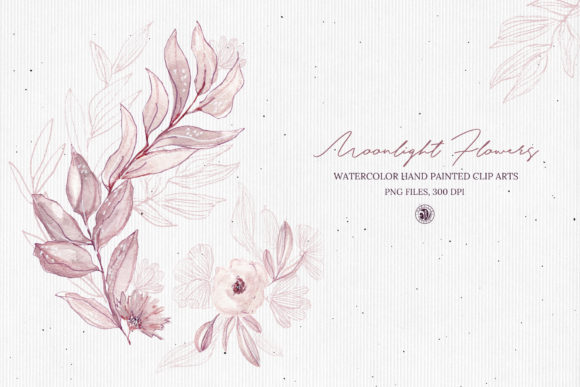 Moonlight Flowers Graphic Illustrations By webvilla