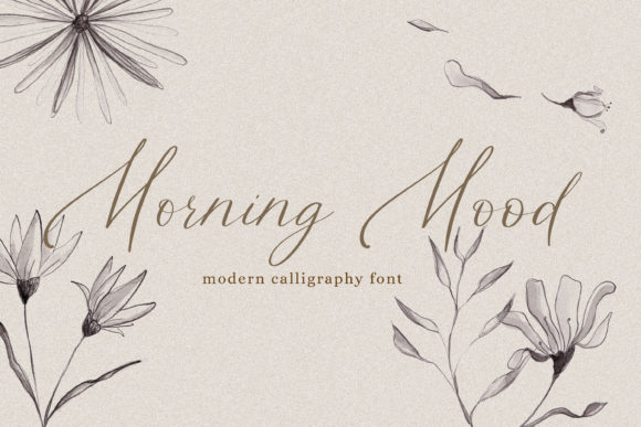 Print on Demand: Morning Mood Script & Handwritten Font By Primafox Design