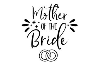 Mother of the Bride Craft Design By Creative Fabrica Crafts