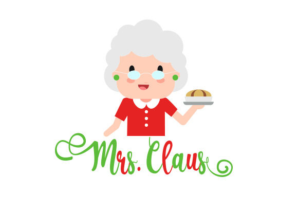Download Free Mrs Claus Svg Cut File By Creative Fabrica Crafts Creative for Cricut Explore, Silhouette and other cutting machines.